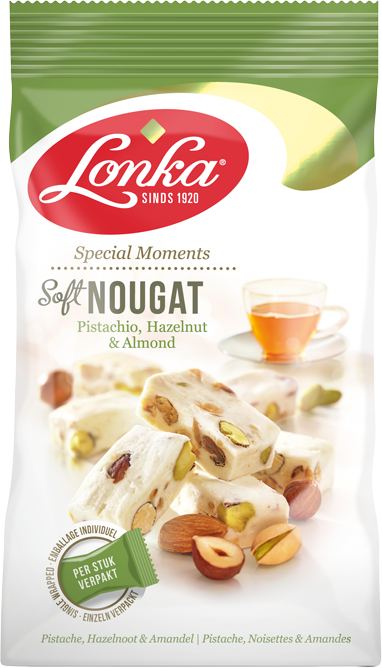 Soft Nougat – Pistachio, Hazelnut & Almonds