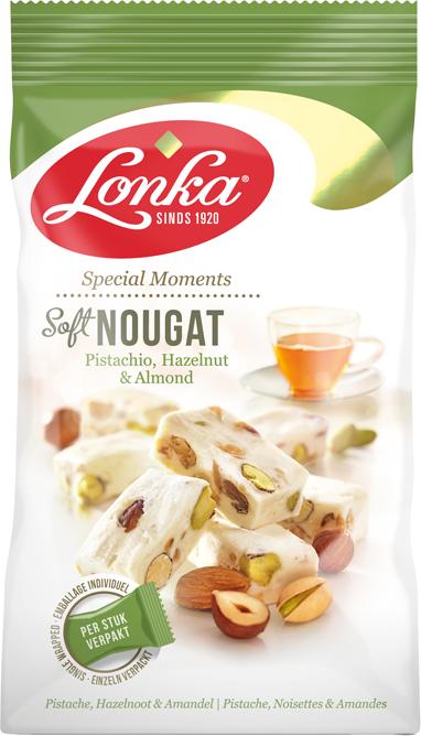 Soft Nougat – Pistachio, Hazelnut & Almonds