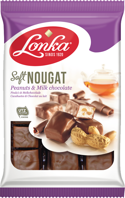 Soft Nougat – Peanuts & Milk chocolate