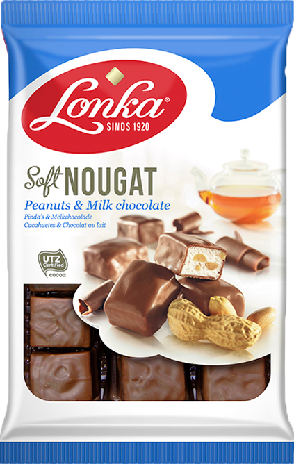Soft Nougat Peanuts & Milk Chocolate