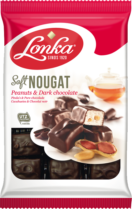 Soft Nougat – Peanuts & Dark chocolate