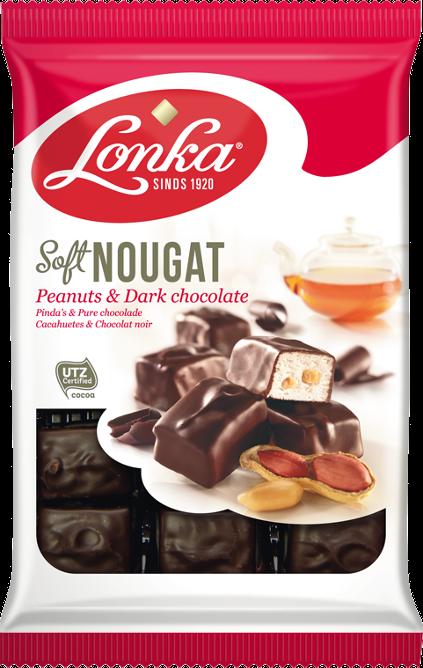 Soft Nougat – Peanuts & Dark chocolate