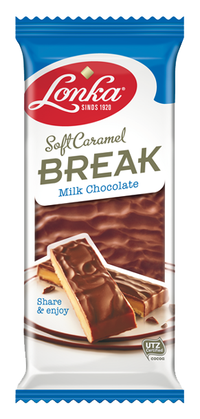 Soft Caramel Break Milk chocolate