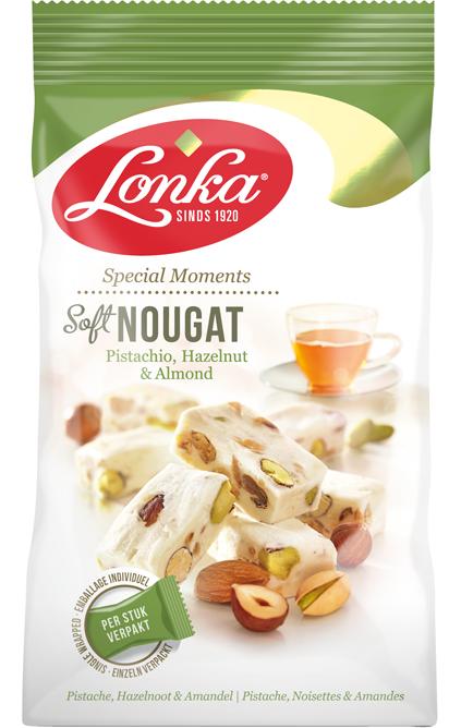 Soft Nougat Pistachio, Hazelnut & Almond