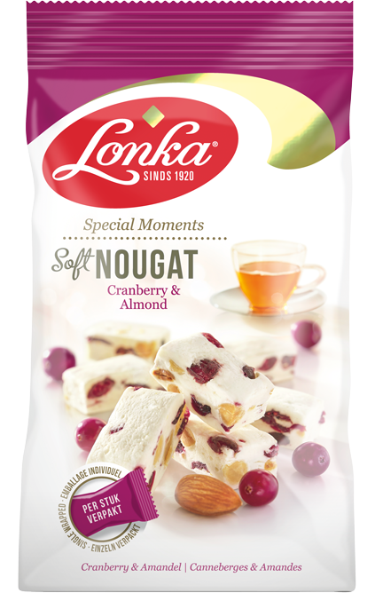 Soft Nougat – Cranberry & Almonds