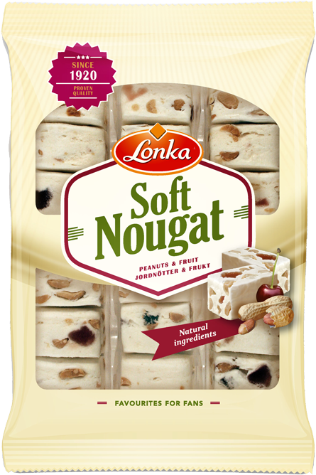 Soft Nougat Peanuts & Fruit