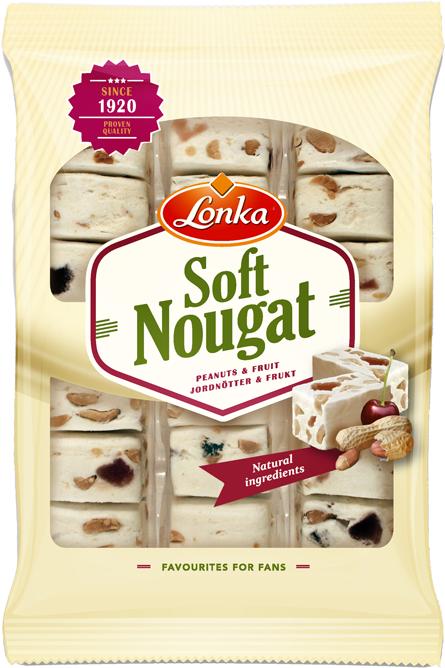 Soft Nougat Peanuts & Fruit