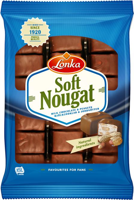 Soft Nougat Milkchocolate & Peanuts