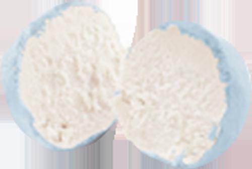 Snoepballetjes Blauwe Framboos (ongevuld)