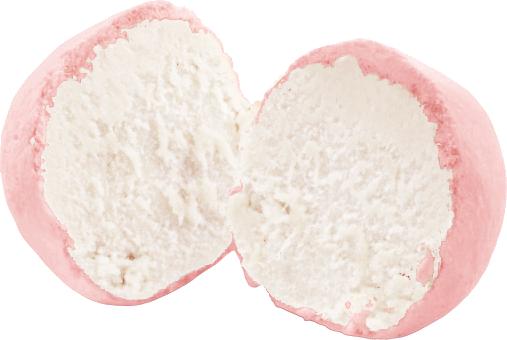 Snoepballetjes Aardbei (ongevuld)