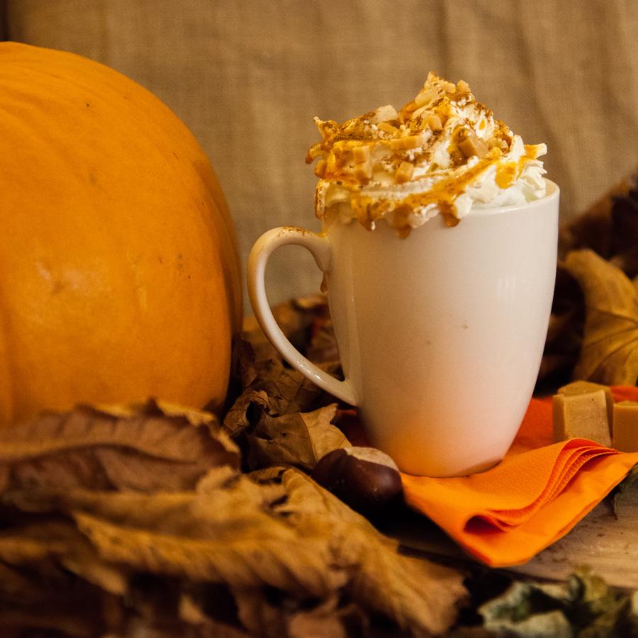 pumpkin spice latte caramel - Lonka