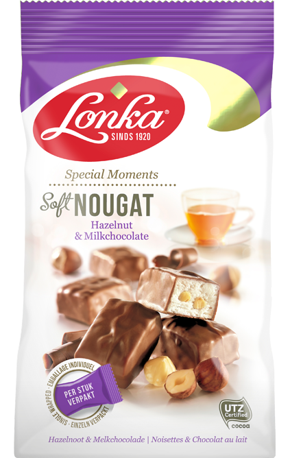 Soft Nougat – Hazelnut & Milk chocolate