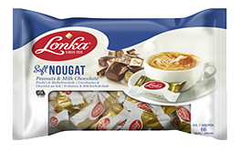 Soft Nougat Peanuts & Milk Chocolate 800 gram