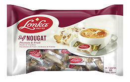 Soft Nougat Peanuts & Fruit 800 gram